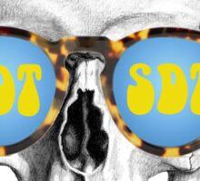 SDT skull Sticker