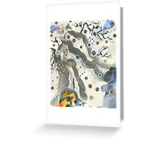 Bright Snowy Day Greeting Card