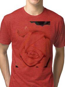 Light macro rose tee Tri-blend T-Shirt