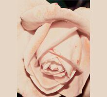 Light macro rose tee Womens Fitted T-Shirt