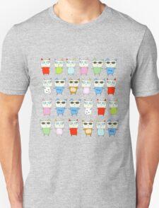 The Meow Cat Family - Dark Unisex T-Shirt