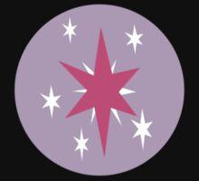 Twilight Sparkle Cutie Mark (Colored) by Loathingeyes