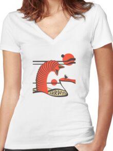 ARRAKIS TRAVEL POSTER Women's Fitted V-Neck T-Shirt