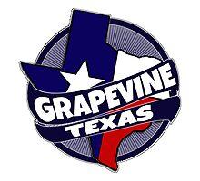Grapevine Texas flag burst by artisticattitud