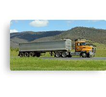Road Semi Hobart Tasmania Canvas Print
