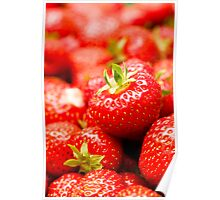 Simply Strawberries Poster