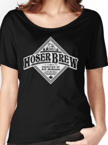HOSER BREW - WHITE LABEL Women's Relaxed Fit T-Shirt