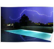 Lightning in Majorca Poster