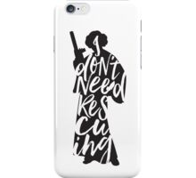 Don't Rescue Me iPhone Case/Skin