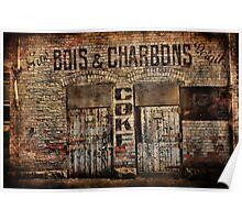 Bois et Charbons Poster