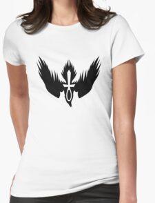 Drowning Doom Logo - Black Womens Fitted T-Shirt