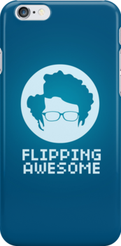 Flipping Awesome iPhone Case by Tom Trager