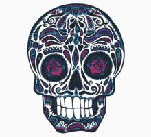 Calavera IV Sugar Skull Neon One Piece - Long Sleeve