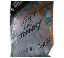 Don't Go Johnny Poster
