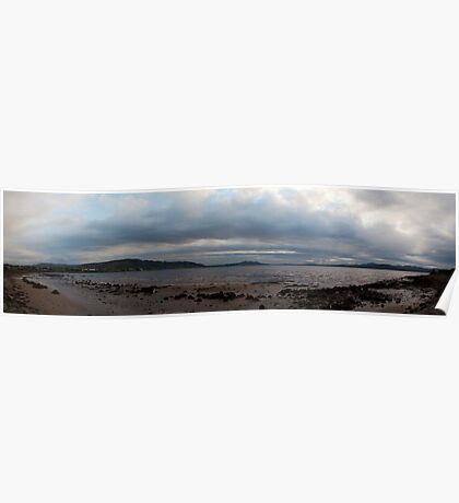 Buncrana Coast Panorama Poster