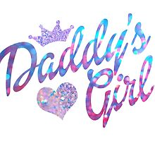 Daddy's Girl in glitter by staysalty
