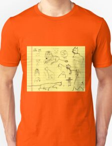 Cats and little lions (July Wendoodle Calendar 2016) T-Shirt