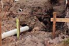 symmetrical cemetery by chookshedflambe