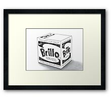 Brillo Soap Pads Framed Print