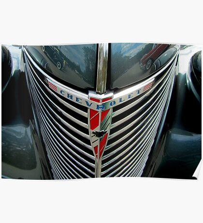 Classic Chevrolet Bling Poster