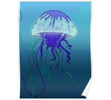 Jellyfish- Color Poster