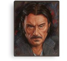 Ian McShane as Al Swearengen Canvas Print