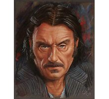 Ian McShane as Al Swearengen Photographic Print