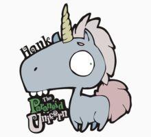 Hank the Paranoid Unicorn by Zekie
