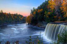 Upper Tahquamenon Falls  by Megan Noble