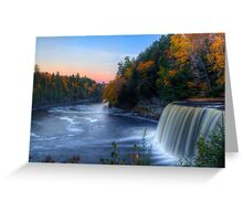 Upper Tahquamenon Falls  Greeting Card
