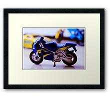 Toy bike Framed Print