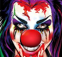 Crazy Clown by Brian Gibbs