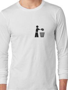 bin your brains pocket Long Sleeve T-Shirt