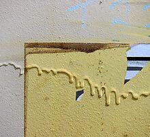 Notes on a skip bin by Akrotiri