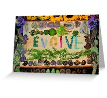 EVOLVE Greeting Card