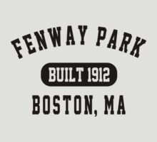 Fenway Park Boston by personalized