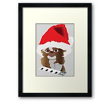 Christmas Gizmo Framed Print