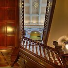 Customs House Staircase  Brisbane  Queensland by William Bullimore