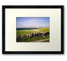 The Hills of Harris - Western Isles Framed Print