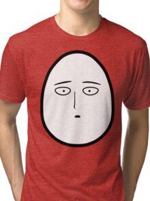 Saitama is an Egg Tri-blend T-Shirt
