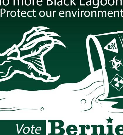 Bernie Halloween Sticker Black Lagoons Sticker