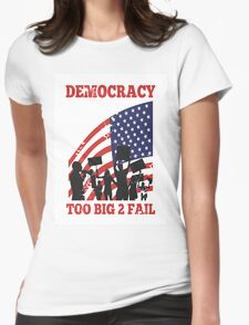 Occupy Wall Street Womens Fitted T-Shirt