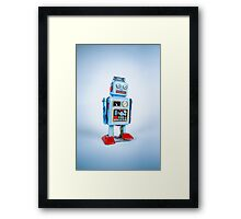 Clockwork Robot Framed Print