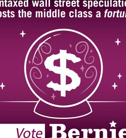 Bernie Halloween Sticker Wall Street Fortune Sticker