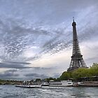 On the River Seine (1) by Larry Lingard-Davis