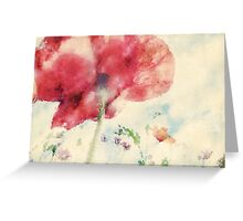 Poppies in the Wind Greeting Card