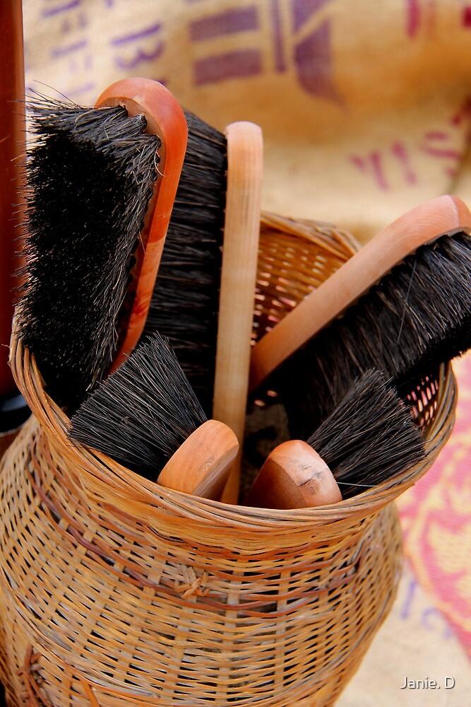 Scrubbing Brush by Janie. D