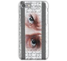 John Watson Eyes 2 iPhone Case/Skin