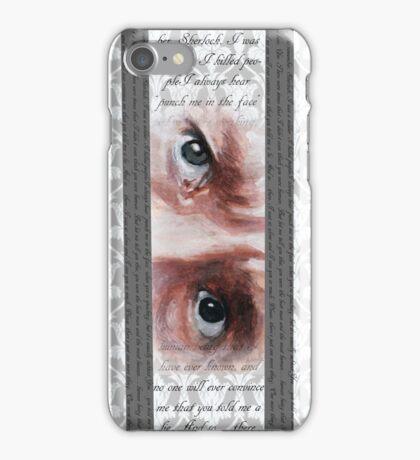 John Watson Eyes 2 iPhone Case/Skin