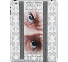 John Watson Eyes 2 iPad Case/Skin